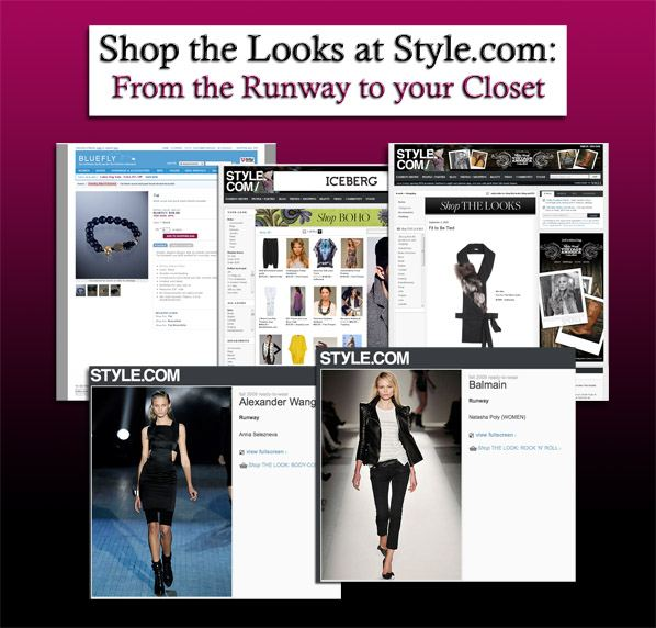 Shop the Looks at Style.com: From the Runway to your Closet post image