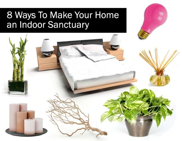8 Ways To Make Your Home an Indoor Sanctuary post image