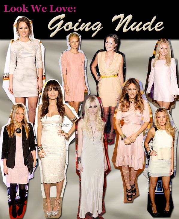 Look We Love: Going Nude post image