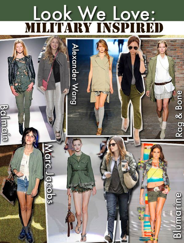 Look We Love: Military Inspired post image