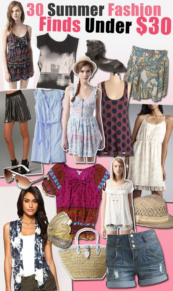 30 Summer Fashion Finds Under $30 post image