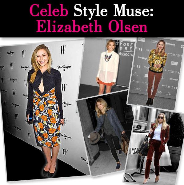 Celeb Style Muse: Elizabeth Olsen post image