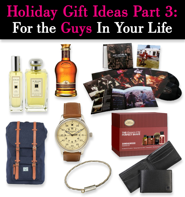 Holiday Gift Ideas Part 3: For The Guys in Your Life post image