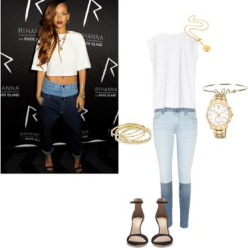 Rihanna look 1