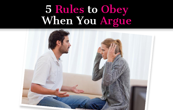 5 Rules to Obey When You Argue post image