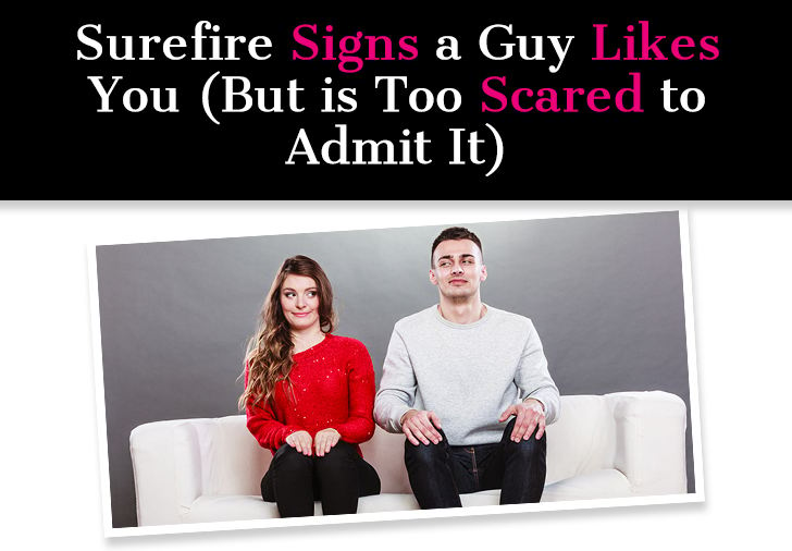 Surefire Signs a Guy Likes You (But Is Too Scared to Admit It) post image